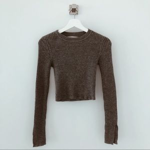 Lovers+ friends revolve ribbed sweater